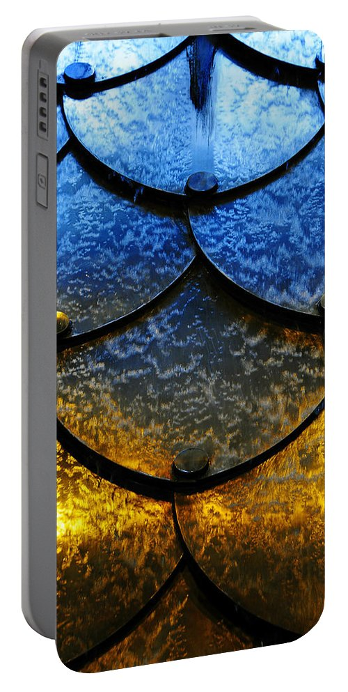 Skip Hunt Portable Battery Charger featuring the photograph Fire And Ice by Skip Hunt