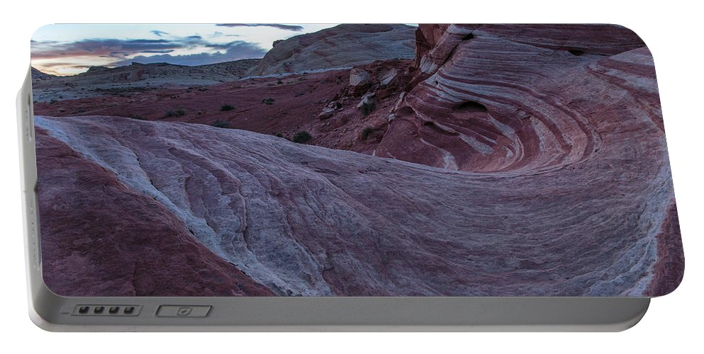 Nevada Portable Battery Charger featuring the photograph Fire Wave II by Rick Berk