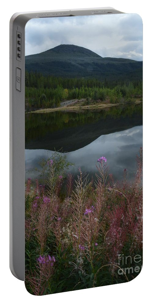 Fireweed Number Seven Portable Battery Charger featuring the photograph Fireweed Number 7 by Brian Boyle