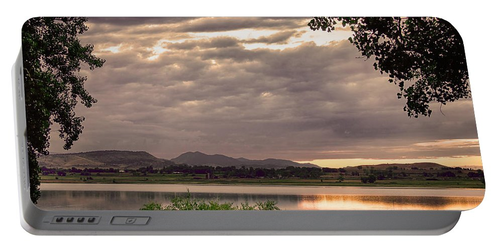 Fishing Portable Battery Charger featuring the photograph Fisherman's Sky by James BO Insogna