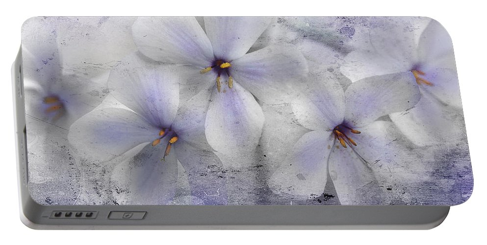 Spring Flowers Portable Battery Charger featuring the photograph Fleeting Visions by Michael Eingle