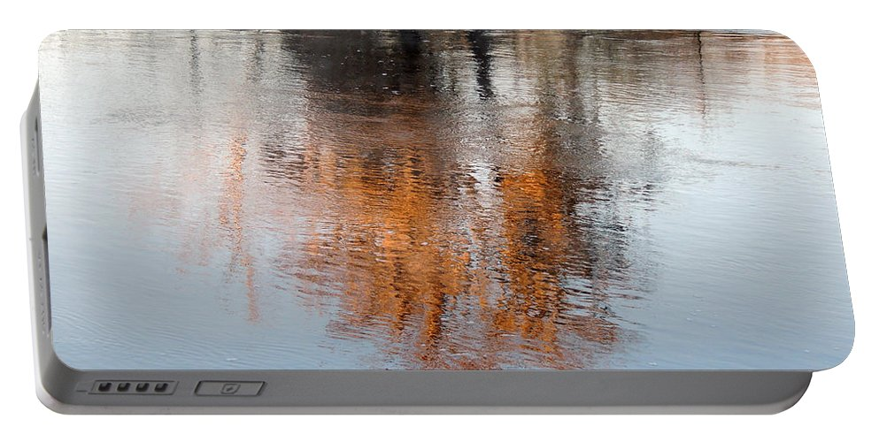 Digital Photography Portable Battery Charger featuring the photograph Flint River 22 by Kim Pate