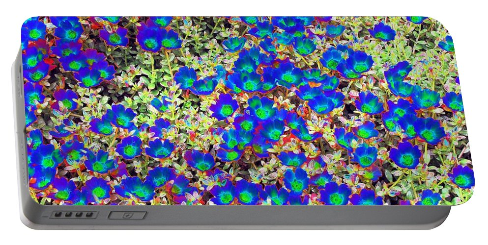 Flower Portable Battery Charger featuring the photograph Flower Power 1201 by Pamela Critchlow