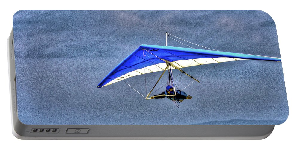Beach Portable Battery Charger featuring the photograph Fly With Me by SC Heffner
