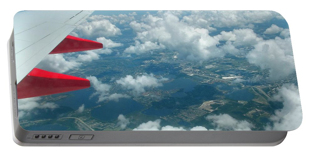 Southwest Portable Battery Charger featuring the photograph Flying High 3 by Jennifer Lavigne