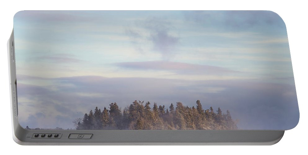Fog Portable Battery Charger featuring the photograph Fogscape by Evelina Kremsdorf