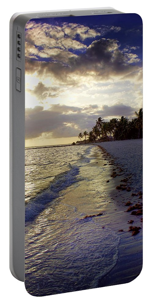Nature Portable Battery Charger featuring the photograph Follow The Light by Ellen Heaverlo
