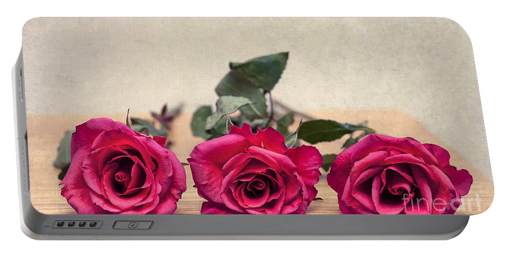 Art Portable Battery Charger featuring the photograph For You by Svetlana Sewell