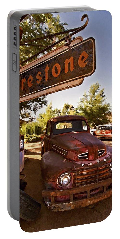 Ford Fever Portable Battery Charger featuring the photograph Ford Fever by Priscilla Burgers