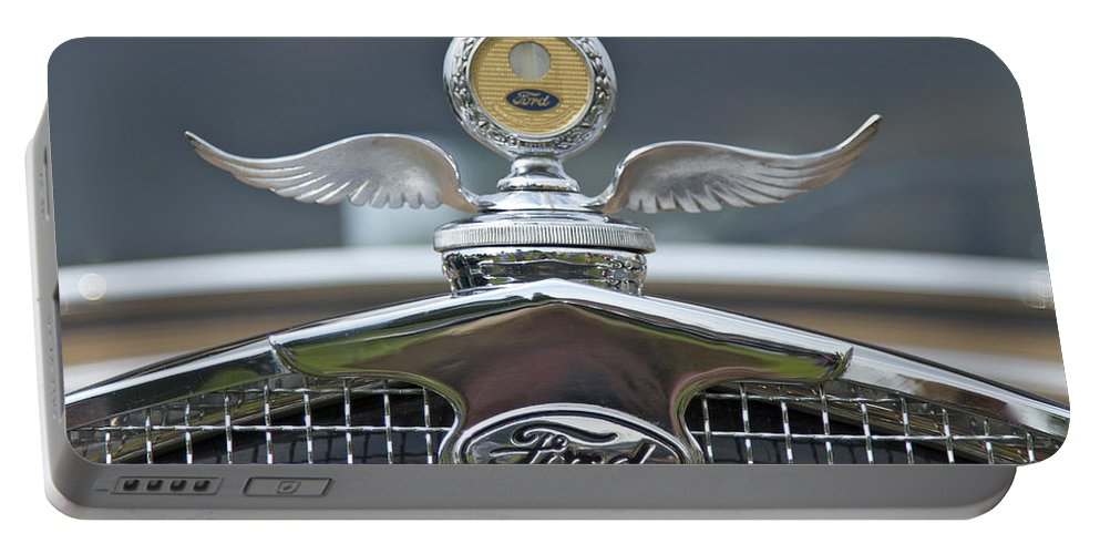 Ford Portable Battery Charger featuring the photograph Ford by Jack R Perry