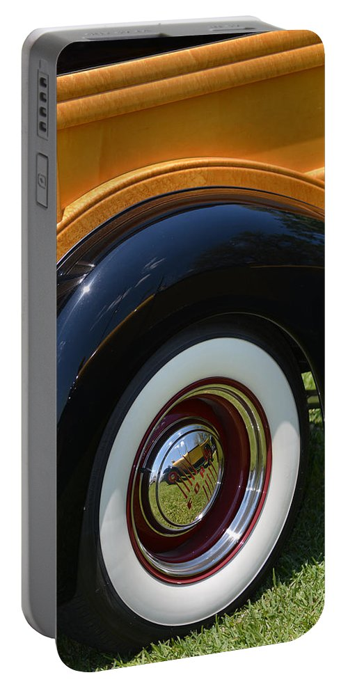 Ford Portable Battery Charger featuring the photograph Ford Wagon by Gale Cochran-Smith