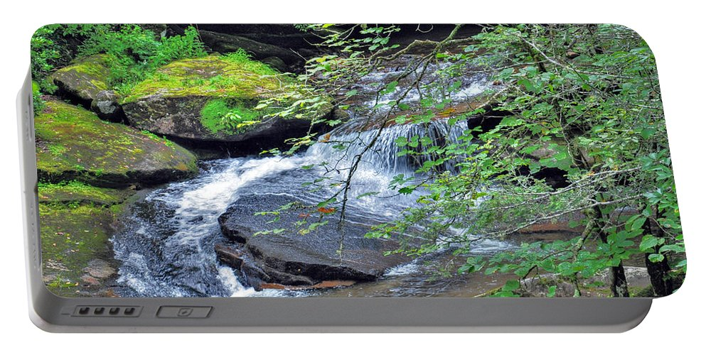 Forest Creek Portable Battery Charger featuring the photograph Forest Creek by Savannah Gibbs