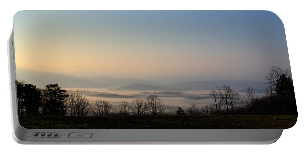 Forlorn Portable Battery Charger featuring the photograph Forlorn Sunrise by Douglas Barnett