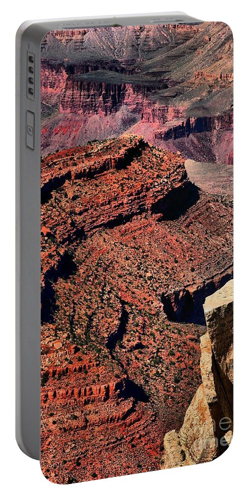 Grand Canyon Portable Battery Charger featuring the photograph Fraggle Rocks by Robert McCubbin