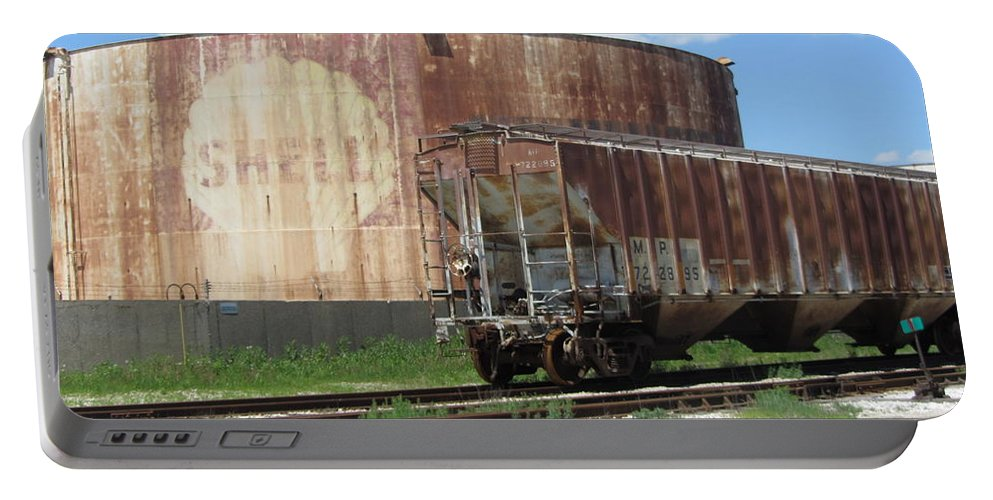 Freight Train Cars 4 Portable Battery Charger