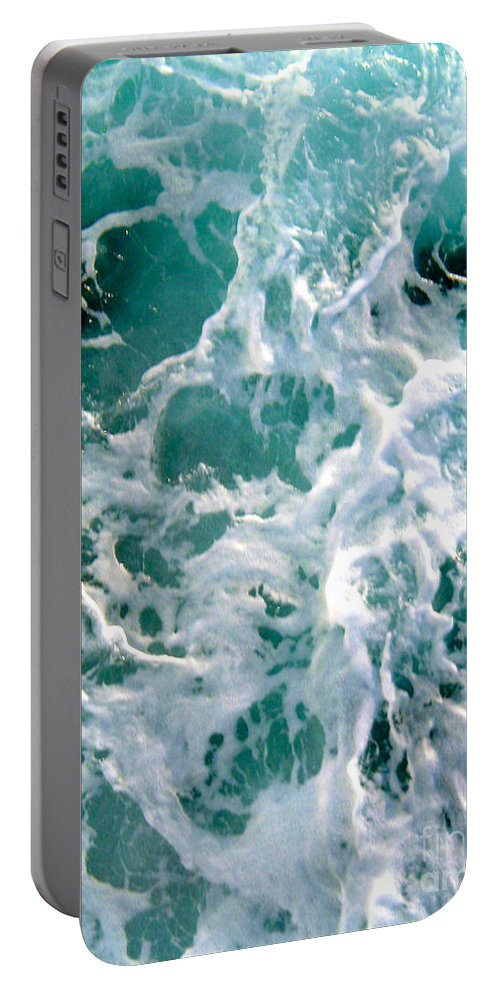 White Portable Battery Charger featuring the photograph Fresh by Anita Lewis