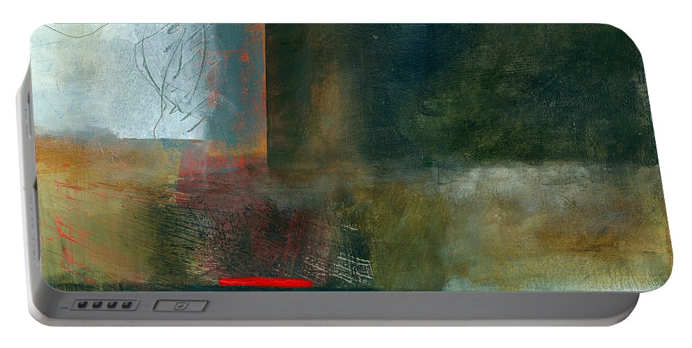 Fresh Paint Portable Battery Charger featuring the painting Fresh Paint #8 by Jane Davies