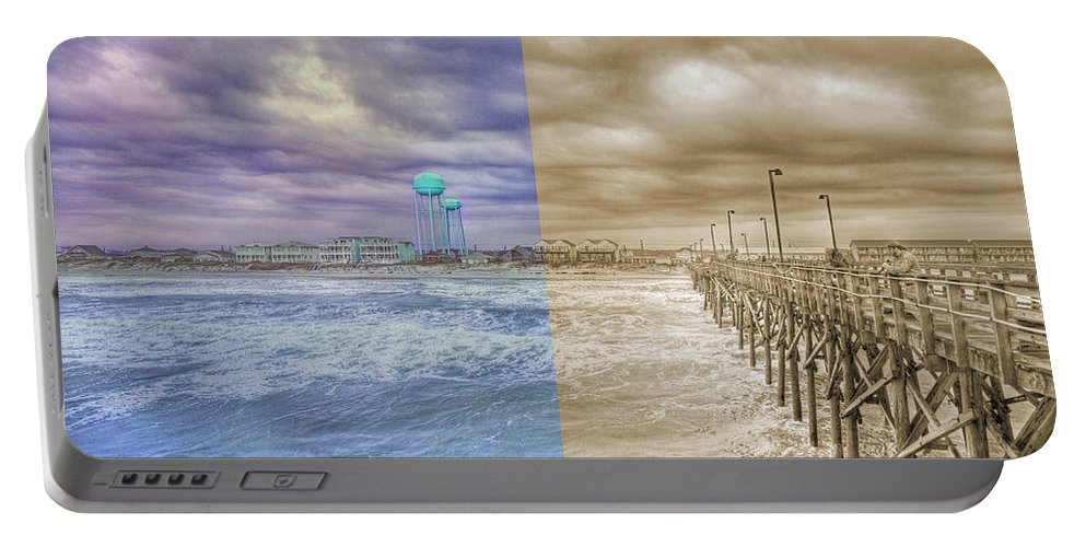 Topsail Portable Battery Charger featuring the photograph From Past To Present by Betsy Knapp