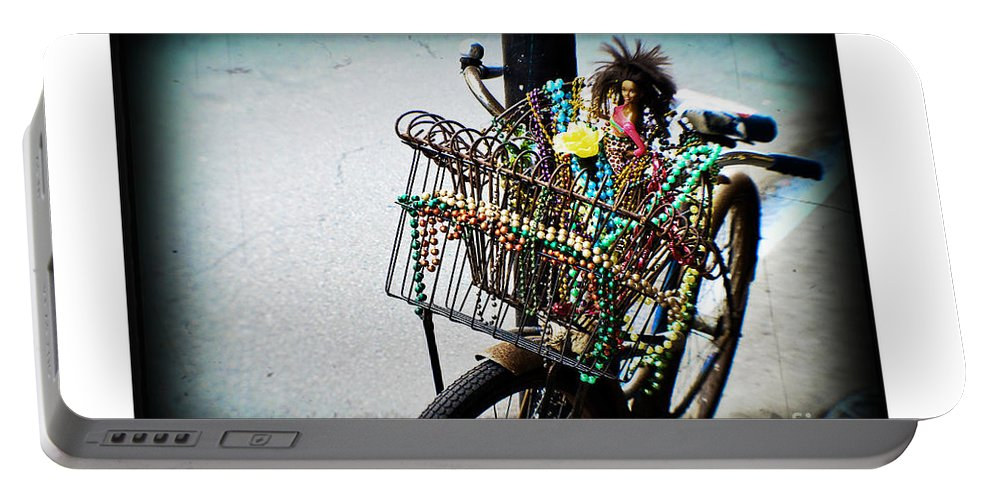 Texture Portable Battery Charger featuring the photograph Funky Ride by Scott Pellegrin