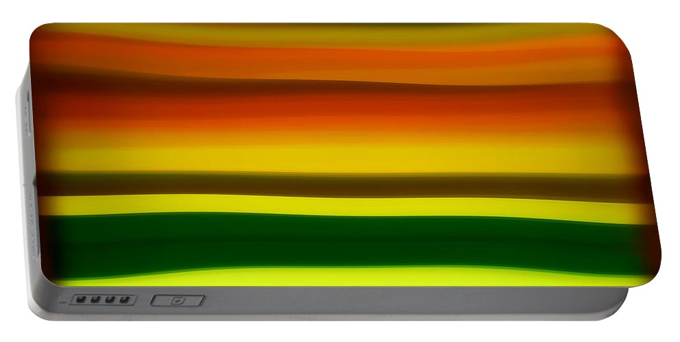 Fury Portable Battery Charger featuring the painting Fury Sea 4 by Amy Vangsgard
