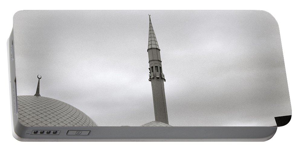 Istanbul Portable Battery Charger featuring the photograph Futuristic Islam by Shaun Higson