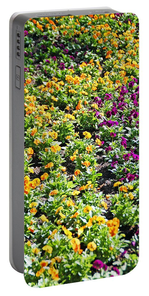 Flower Portable Battery Charger featuring the photograph Garden Flowers by Aimee L Maher ALM GALLERY
