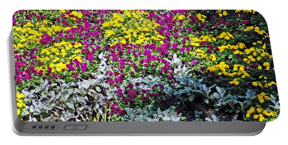 Flower Portable Battery Charger featuring the photograph Garden Variety by Aimee L Maher ALM GALLERY