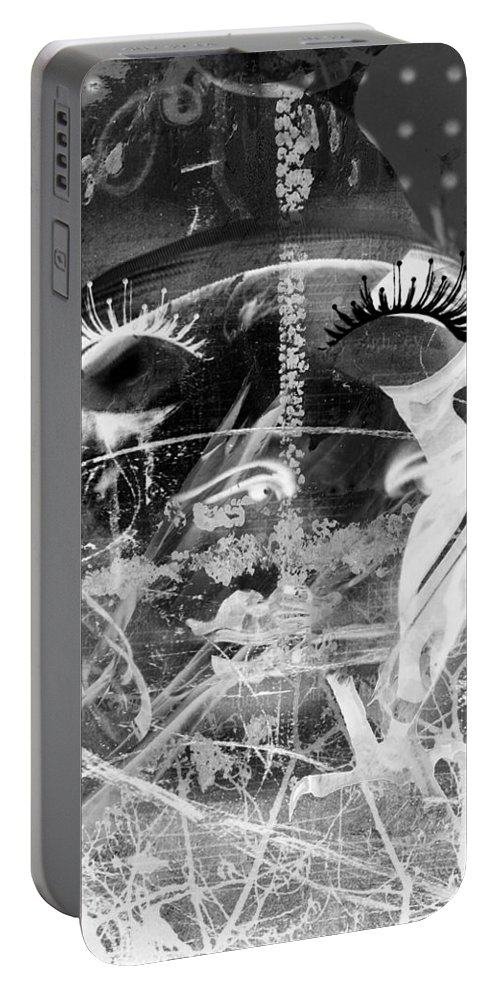 Abstract Art Portable Battery Charger featuring the photograph Gardener Of The Night by The Artist Project