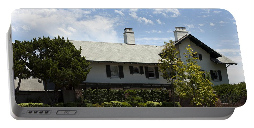 George S. Patton Portable Battery Charger featuring the photograph General George S Patton Family Home by Jason O Watson