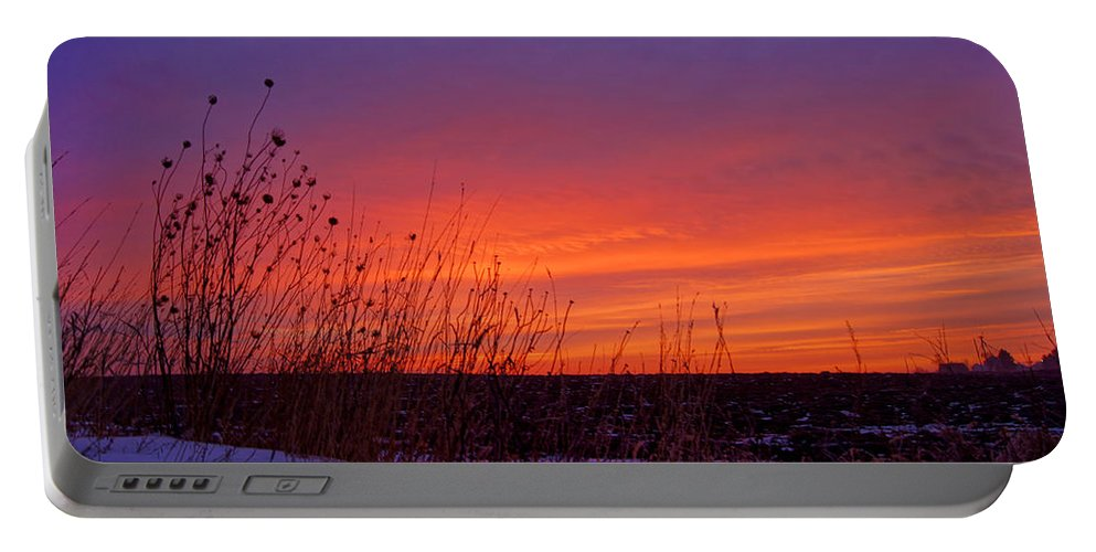 Bill Pevlor Portable Battery Charger featuring the photograph Genesis Dawn by Bill Pevlor
