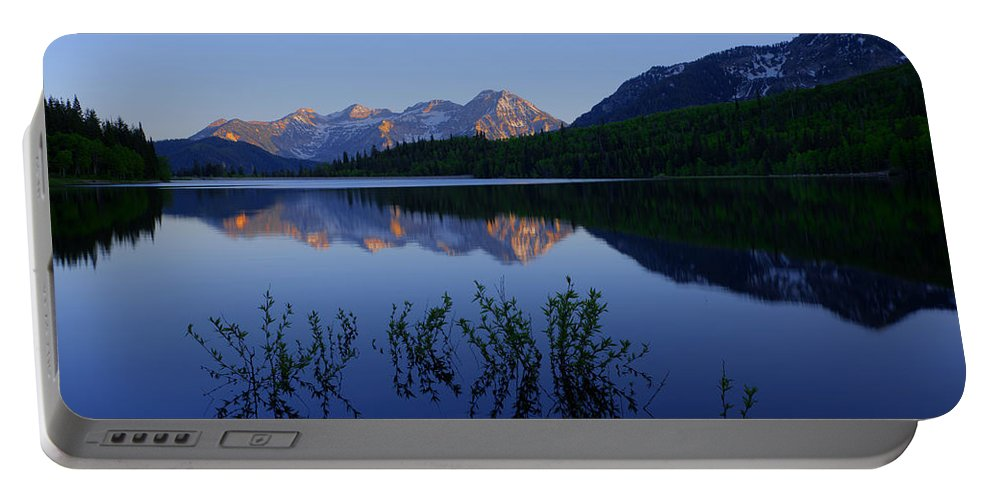 Chad Dutson Portable Battery Charger featuring the photograph Gentle Spring by Chad Dutson