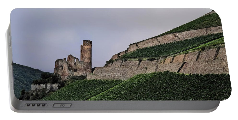Travel Portable Battery Charger featuring the photograph German Vineyard by Elvis Vaughn