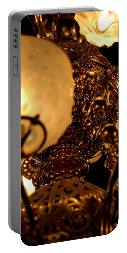 Architecture Portable Battery Charger featuring the photograph Gilded Age by Joseph Yarbrough