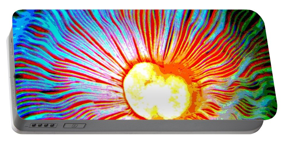 Gills Portable Battery Charger featuring the photograph Gills by Deena Stoddard