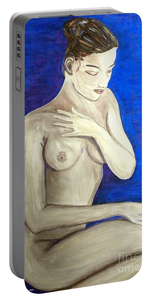 Girl Portable Battery Charger featuring the photograph Girl by Nina Ficur Feenan