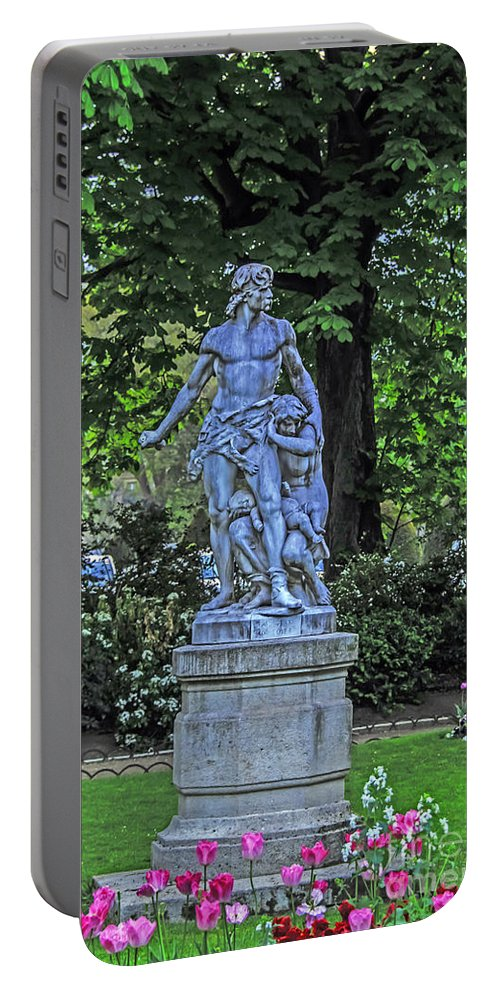 Travel Portable Battery Charger featuring the photograph Glory Of Spring by Elvis Vaughn