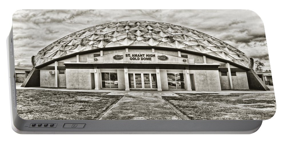 Gold Dome Portable Battery Charger featuring the photograph Gold Dome by Scott Pellegrin