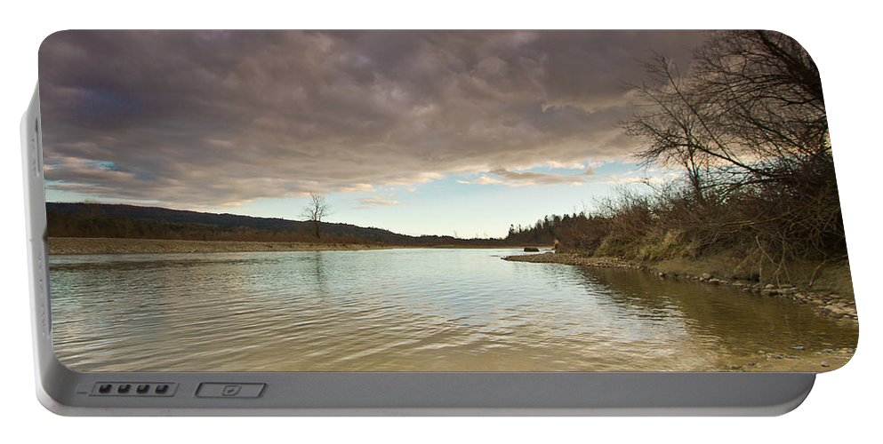 Fishing Portable Battery Charger featuring the photograph Gone Fishing by Eti Reid