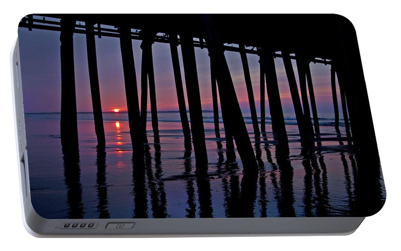 Old Portable Battery Charger featuring the photograph Good Morning Old Orchard Silhouette  by Betsy Knapp