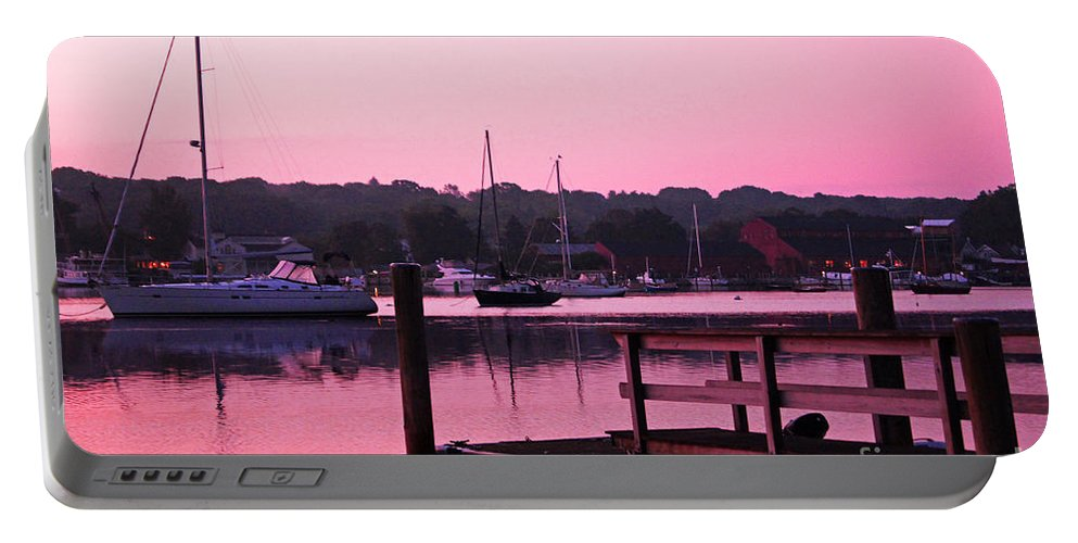 Landscape Portable Battery Charger featuring the photograph Good Mystic Morning by Joe Geraci