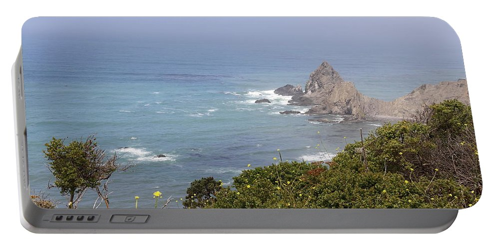 Mendicino Coast Portable Battery Charger featuring the photograph Gorgeous Mendocino Coast by Christiane Schulze Art And Photography