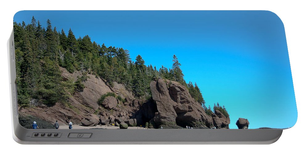 Portable Battery Charger featuring the photograph Gorgeous Rock Formations by Cheryl Baxter