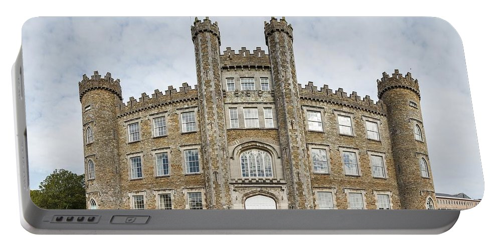 14th Century Portable Battery Charger featuring the photograph Gormanston Castle by Semmick Photo