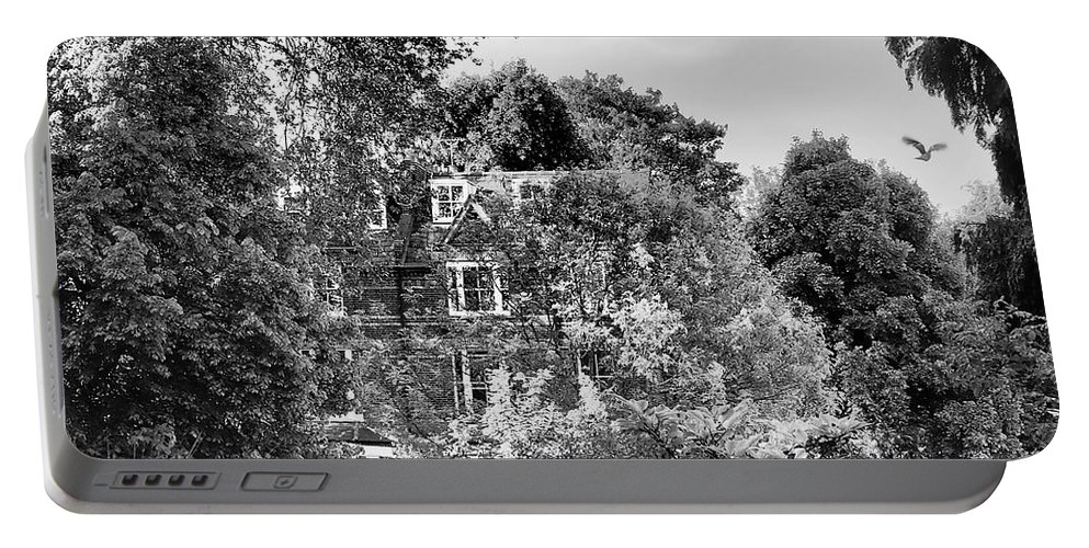 Hampstead Portable Battery Charger featuring the photograph Gothic Hampstead by Rona Black