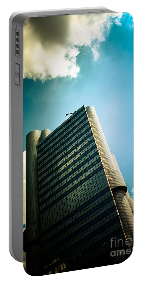 Architecture Portable Battery Charger featuring the photograph Gott Mit Dir Du Land Der Bayern by Hannes Cmarits