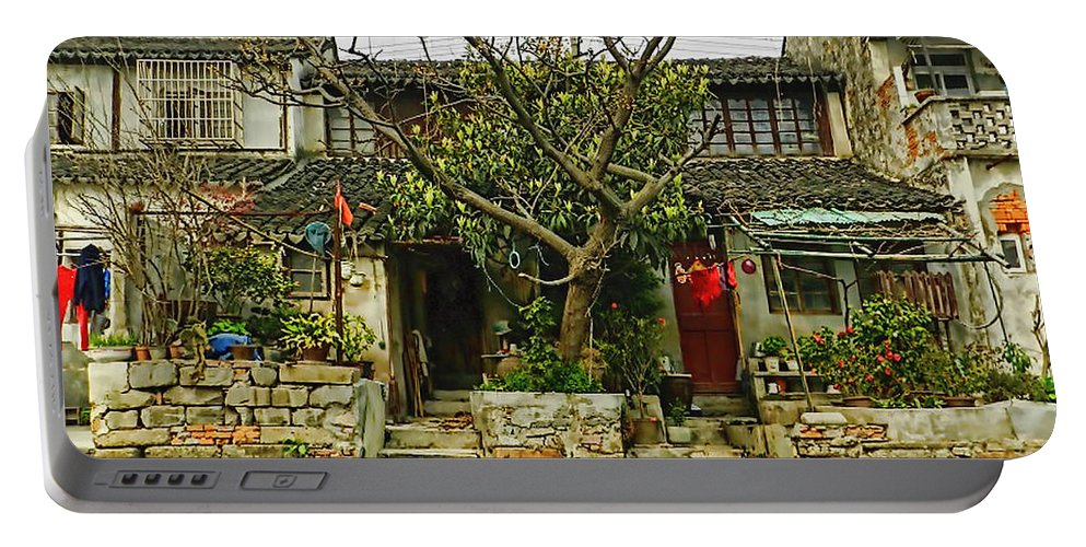 China Portable Battery Charger featuring the photograph Grand Canal China by Cathy Anderson