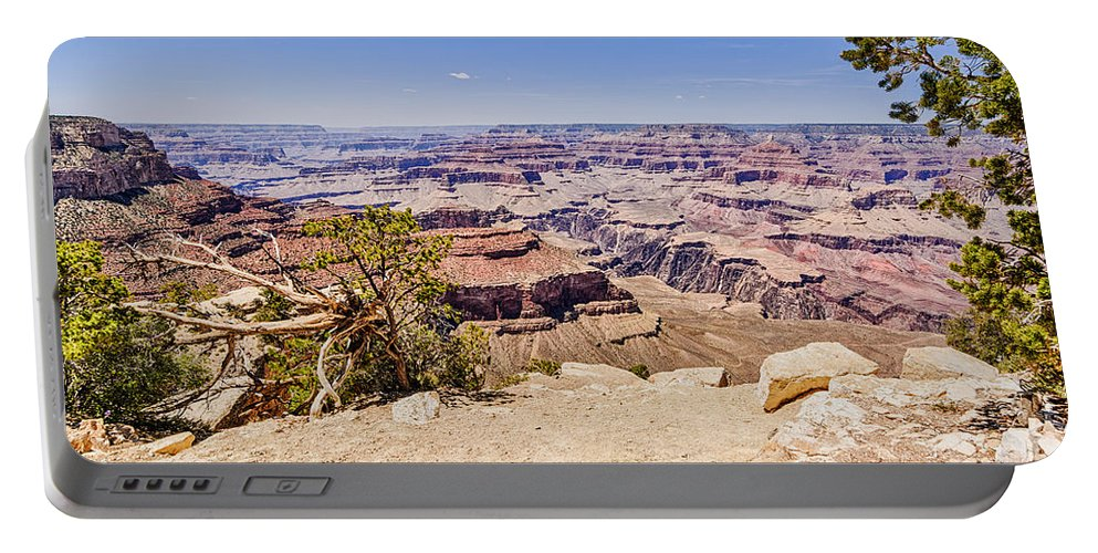Grand Canyon Portable Battery Charger featuring the photograph Grand Canyon 1 by Brett Engle