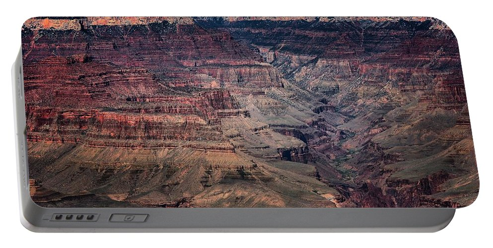 Grand Canyon Portable Battery Charger featuring the photograph Grand Canyon 5 by Robert McCubbin