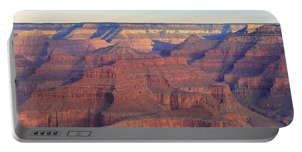 Nature Portable Battery Charger featuring the photograph Grand Canyon Dawn 3 by Noa Mohlabane