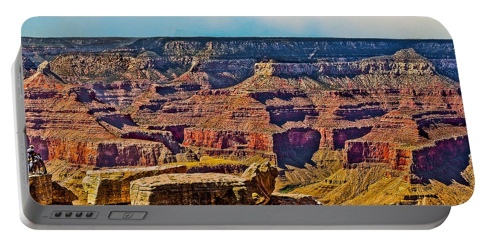 Grand Canyon Mather Viewpoint Portable Battery Charger featuring the photograph Grand Canyon Mather Viewpoint by Bob and Nadine Johnston